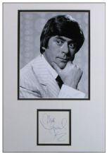 Mike Yarwood Autograph Signed Display
